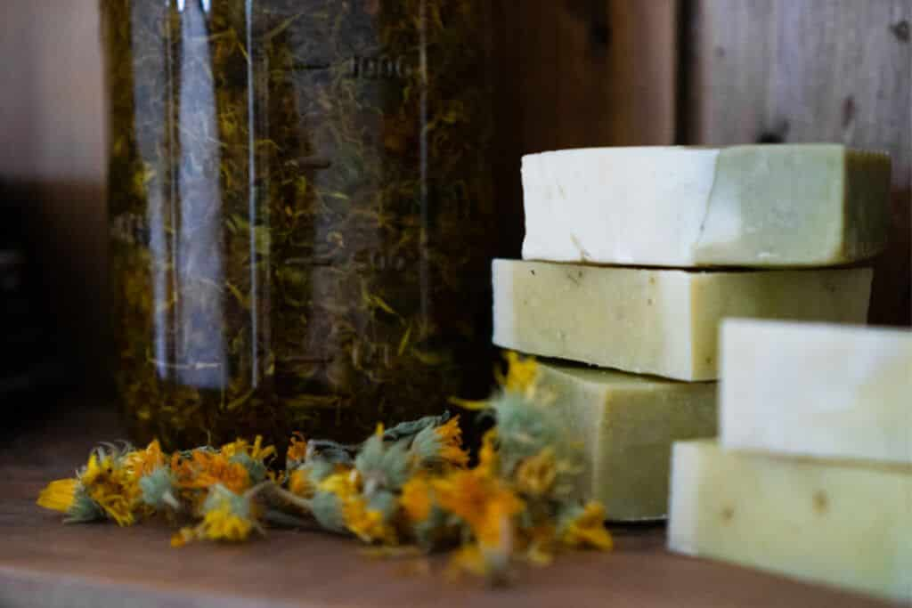 Herbal Soap Recipe for Eczema